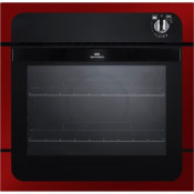 New World NW601G Built In Single Gas Oven - Metallic Red