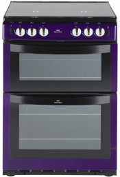 New World NW601GDOL Gas Cooker - Metallic Purple
