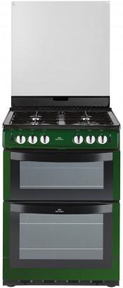 New World NW601GDOL Metallic Green Gas Cooker