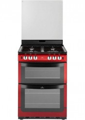 New World NW601GDOL Metallic Red Gas Cooker
