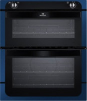 New World NW701DO Built Under Electric Double Oven - Metallic Blue