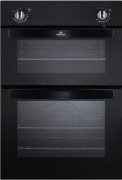 New World NW901DO Electric Double Oven - Black