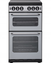 New World TSIDL Gas Cooker Separate Grill - Silver