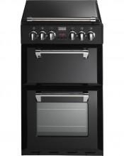 Stoves Richmond Mini Range 550E Double Oven Ceramic Cooker- Black