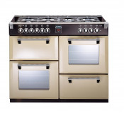 Stoves Richmond 1000DFT Dual Fuel Range Cooker - Champagne