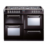 Stoves Richmond 1100DFT Dual Fuel Range Cooker - Black