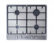 Stoves SGH600E 4 Burner Gas Hob- Stainless Steel
