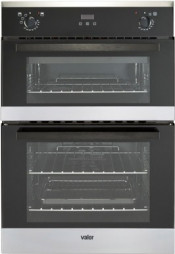 Valor VBI90FP Built In Electric Double Oven - Stainless Steel