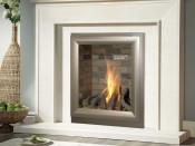 Verine NBFLBBRN2 Meridian Brick Back Balanced Flue Gas Fire