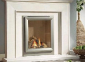 Verine NHELRCRN2 Meridian HE Cream Back Remote Control Gas Fire
