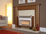 Flavel Misermatic Gas Fire - Medium Oak