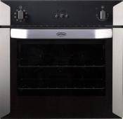 Belling BI90FP Built In 90cm Electric Double Oven - Black Ex Display