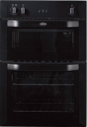 Belling BI90FP Built In 90cm Electric Double Oven - Black
