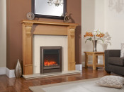 Celsi Electriflame Oxford 16 Inch Electric Fire - Brown Shelf Wear