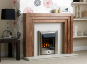 Valor Homeflame Classica Full Depth Gas Fire - Pewter