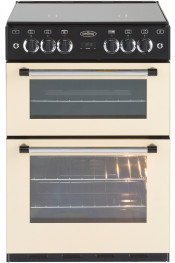 Belling 444443749 Classic 60C Gas Cooker Double Oven - Cream