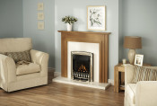 Valor Dream Balanced Flue Gas Fire in Pale Gold