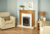 Valor Dream Balanced Flue Gas Fire in Silver