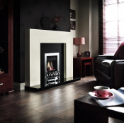 Valor Blenheim Slimline Manual Control Gas Fire in Chrome