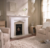 Valor 05956D7 Black Blenheim Slimline Manual Control Gas Fire