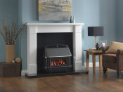 Valor 0547401 Valentia Black Chrome Balanced Flue Gas Fire