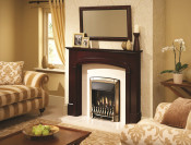 Valor Homeflame Dream Full Depth Gas Fire in Pale Gold
