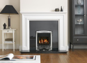 Valor Homeflame Dream Gas Fire in Chrome