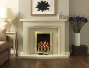 Valor Blenheim Brass Coal Manual Control Gas Fire