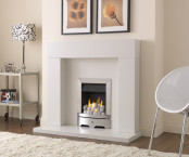 Valor 0595603 Seattle Slimline Gas Fire - Chrome