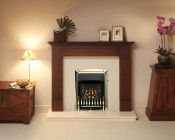 Valor Homeflame Dream Slimline Gas Fire in Pale Gold