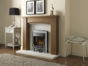 Valor Homeflame Dream Slimline Gas Fire in Chrome