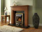 Valor Blenheim Homeflame Slimline Gas Fire in Brass