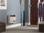 Valor Brazilia F5 Beige Radiant Manual Control Wall Heater