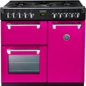 Stoves 444441284 Richmond 900DFT 90cm Dual Fuel Range Cooker - Floral Burst
