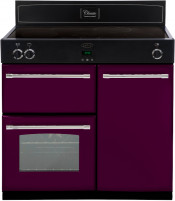 Stoves 444441834 Richmond 900EI 90cm Electric Induction Range Cooker - Wild Berry