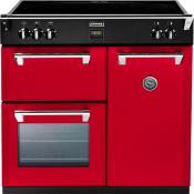 Stoves 444441835 Richmond 900Ei 90cm Electric Induction Range Cooker - Hot Jalapeno