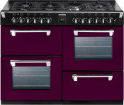 Stoves 444441313 Richmond 1000DFT Dual Fuel Range Cooker - Wild Berry