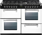 Stoves 444441315 Richmond 1000DFT Dual Fuel Range Cooker - Icy Brook