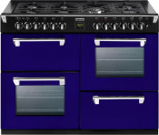 Stoves 444441354 Richmond 1100DFT Dual Fuel Range Cooker - Midnight Gaze