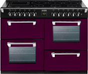 Stoves 444441858 Richmond 1100Ei Electric Induction Range Cooker - Wild Berry
