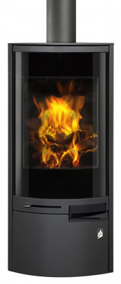 Aga Westbury Wood Burning Stove - Graphite