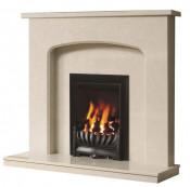 Be Modern Tasmin Fireplace - Manila Micro Marble