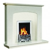 Be Modern 151033 Viola 48 Inch Fireplace - Manila Micro Marble