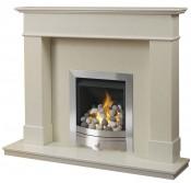 Caterham Chepstow 54 Inch Fireplace - Bianca Beige