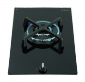 CDA HG3601FR Domino Single Burner Gas Hob - Black