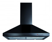CDA ECH71BL 70cm Chimney Cooker Hood - Black