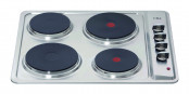 CDA HE6050SS 4 Plate Electric Hob - Stainless Steel