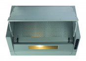 CDA EIN60SI 60cm Integrated Cooker Hood - Silver