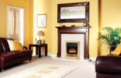 Dimplex Wesley Electric Fire - Brass