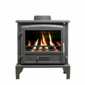Valor Ridlington Multifuel Stove - Matte Black